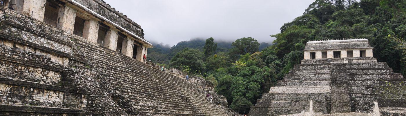 mexiko campeche ruinen