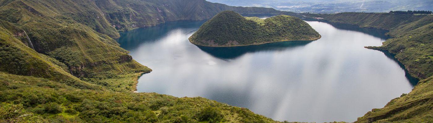 ecuador cuicocha kratersee