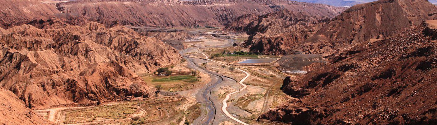 Chile Atacama Ausblick Quitor