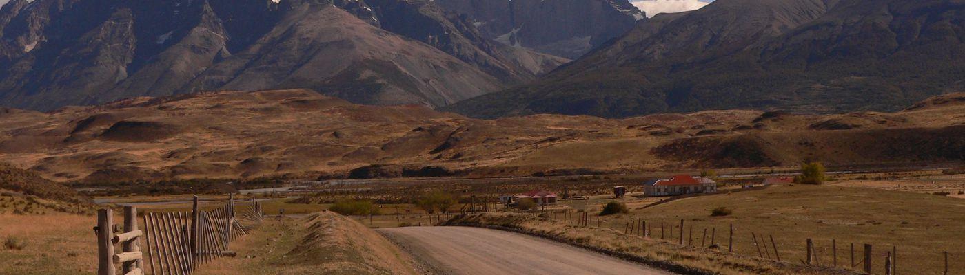 Chile Patagonien Las Torres Nationalpark Entrada Sarmiento