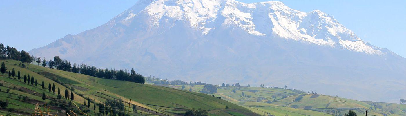 Ecuador Chimborazo Landschaft Ausschnitt