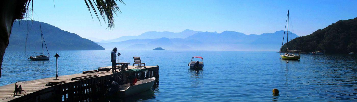 Brasilien Buzios Hafen Aromabild