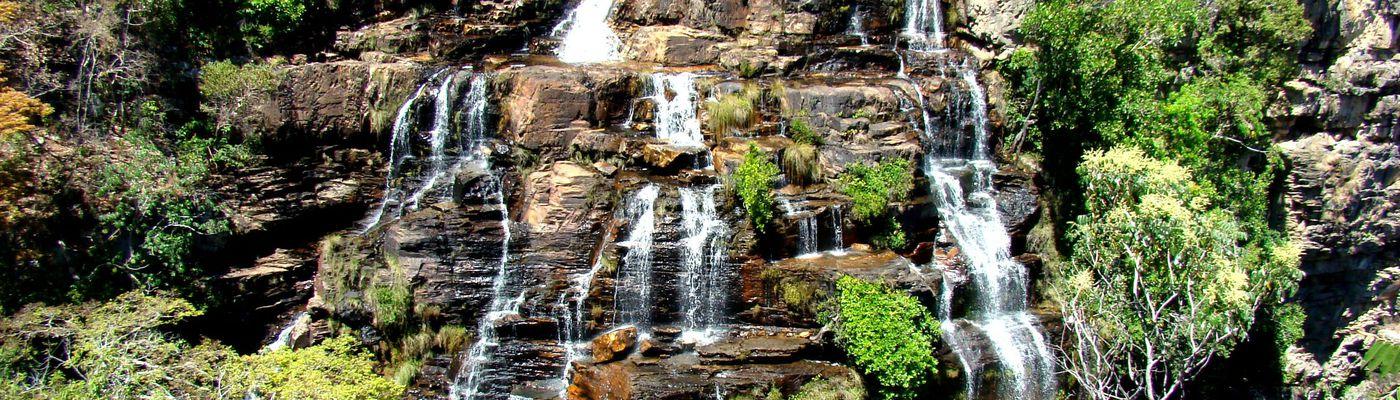 Brasilien Chapada Diamantina Wasserfall Aromabild