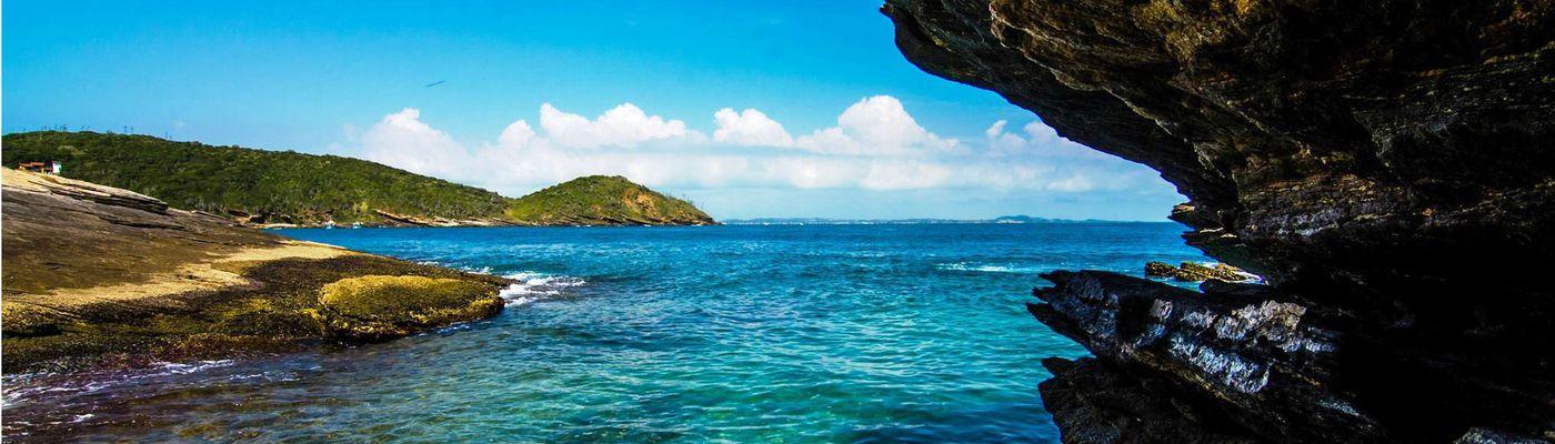 Brasilien Buzios gruta tucuns Küste Aromabild
