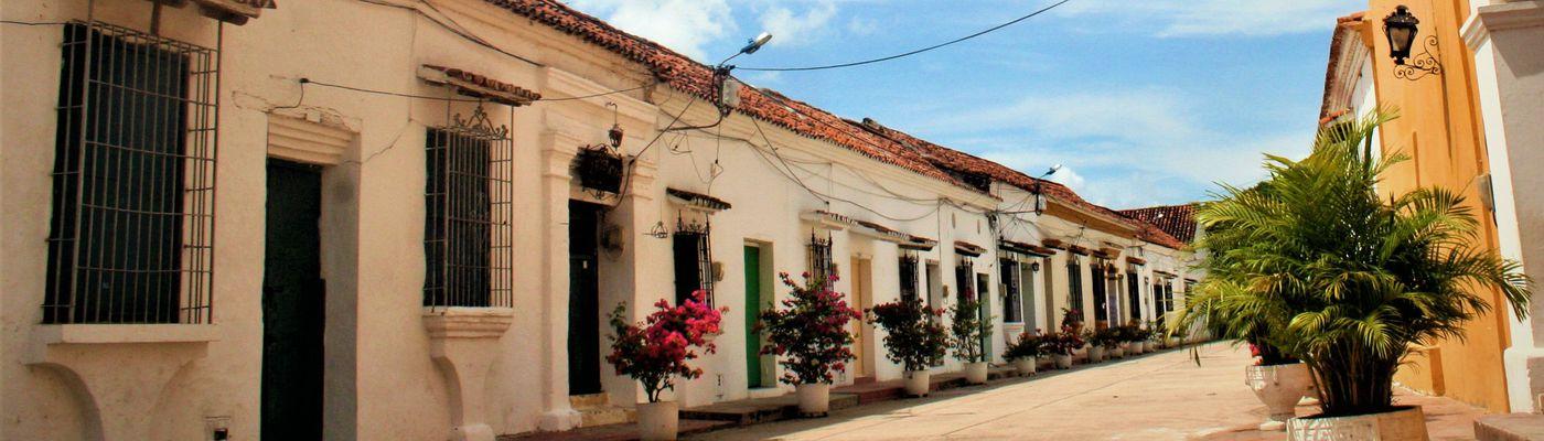 kolumbien mompox straße aromabild
