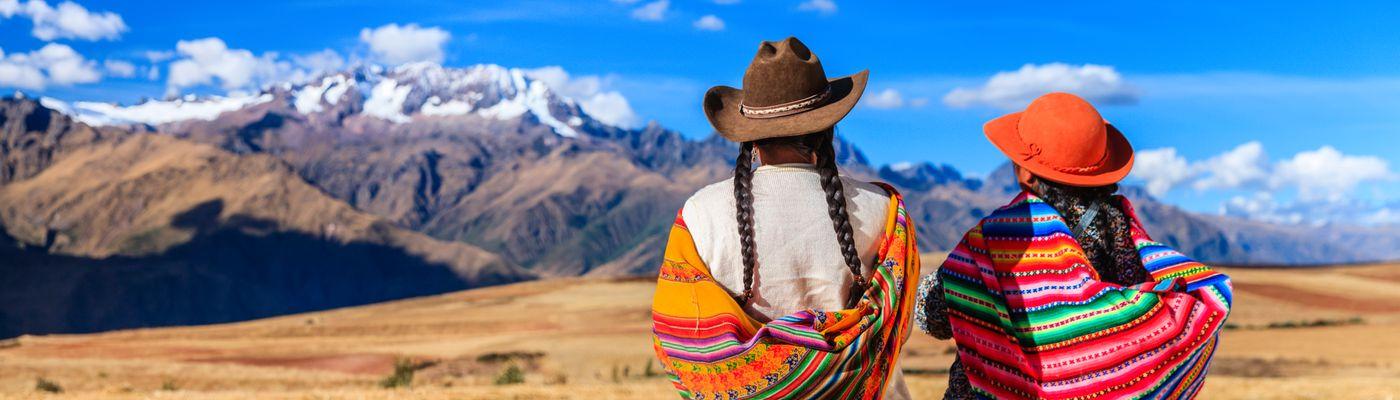 Peru Andentraeume Panorama