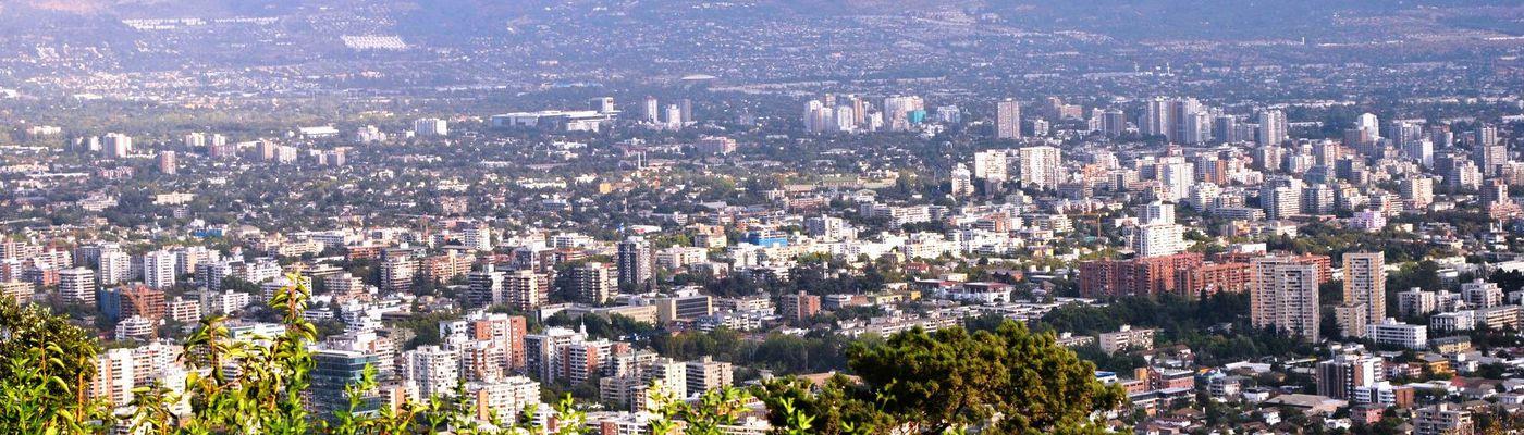 Chile Santiago Stadtblick1 Aroma1