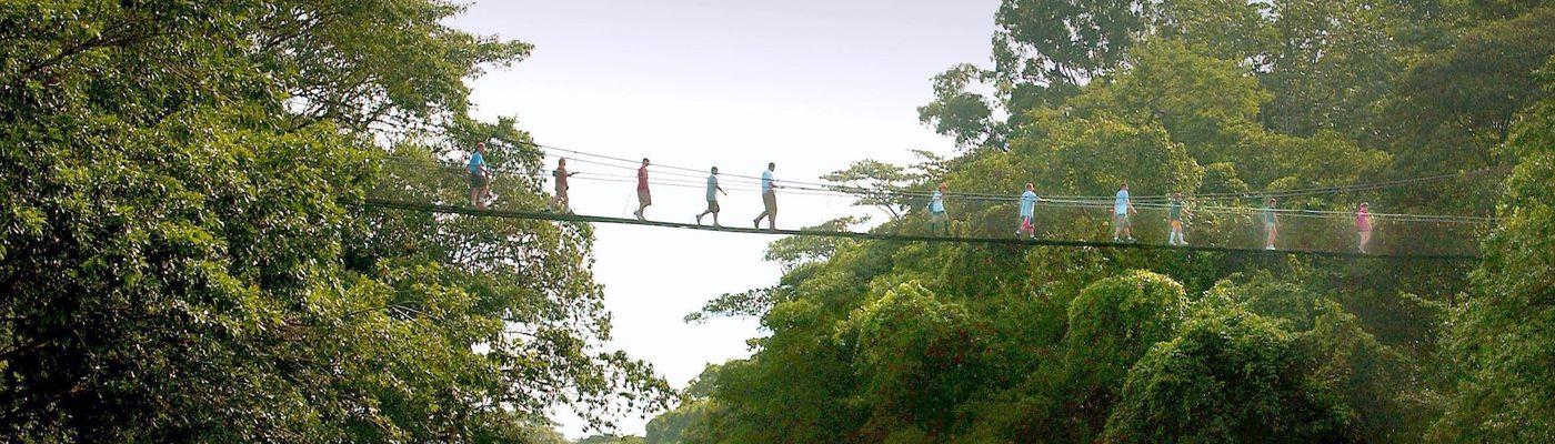 Costa Rica Puerto de Viego Sarapiqui Tirimbina Bridge3