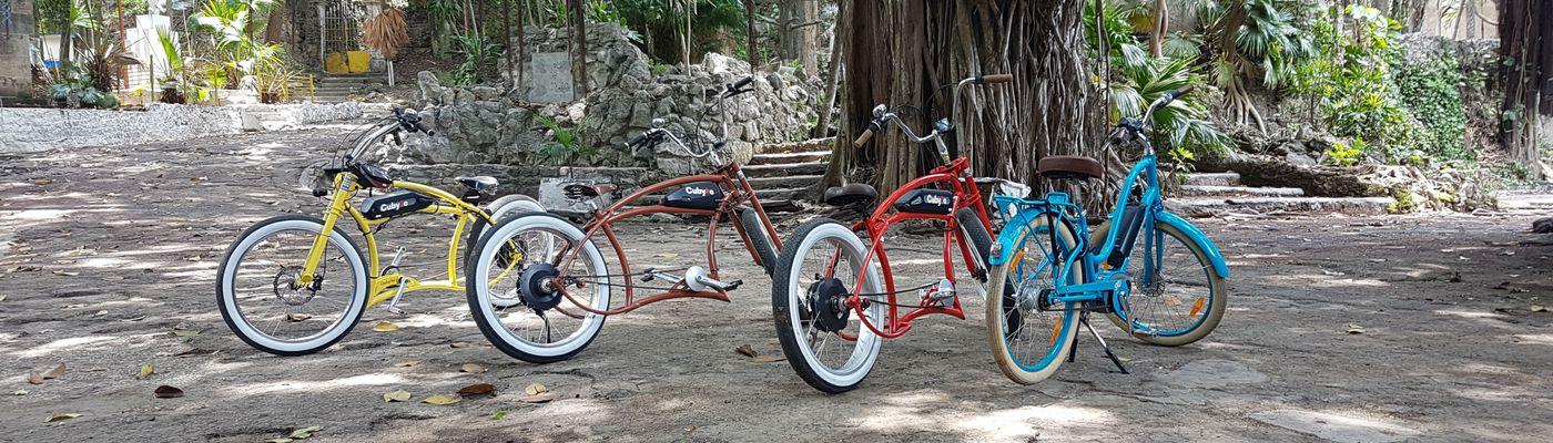 Kuba E Bike Tour Fahrräder Aromabild