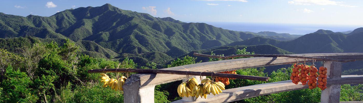 Kuba Sierra Maestra Aussichtspunkt