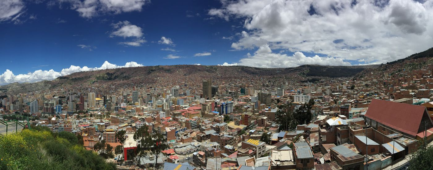 bolivien la paz panorama
