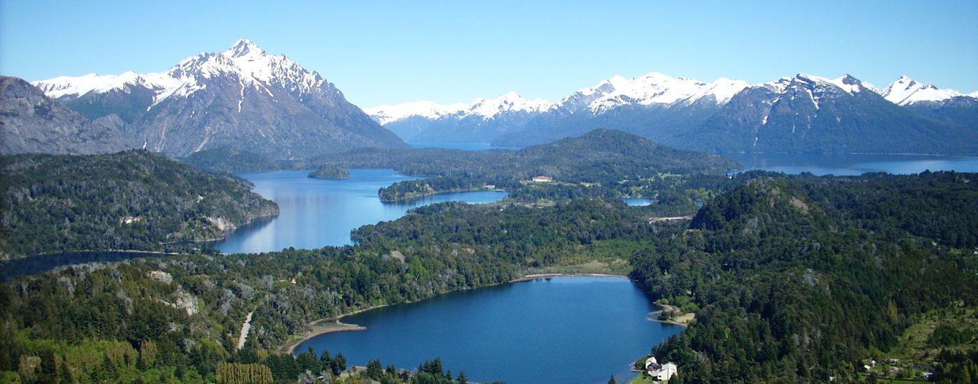 Argentinien Bariloche see