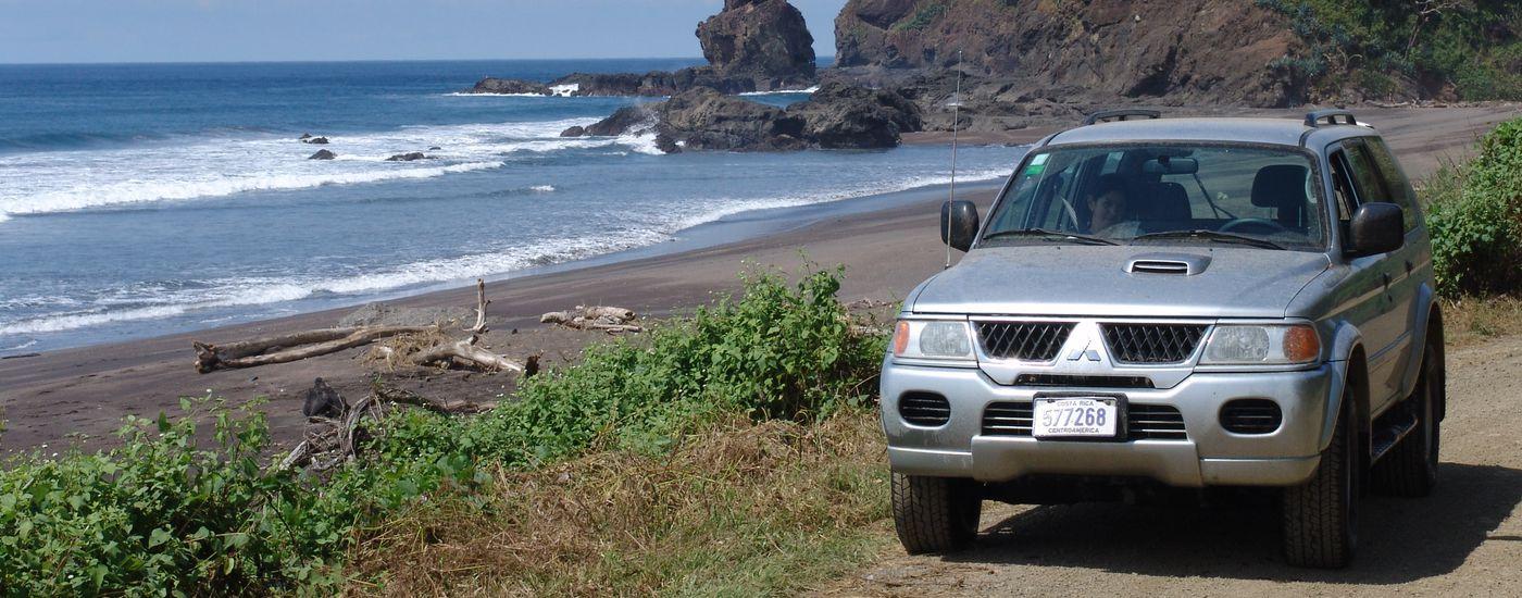 Costa Rica Strand Mietwagen