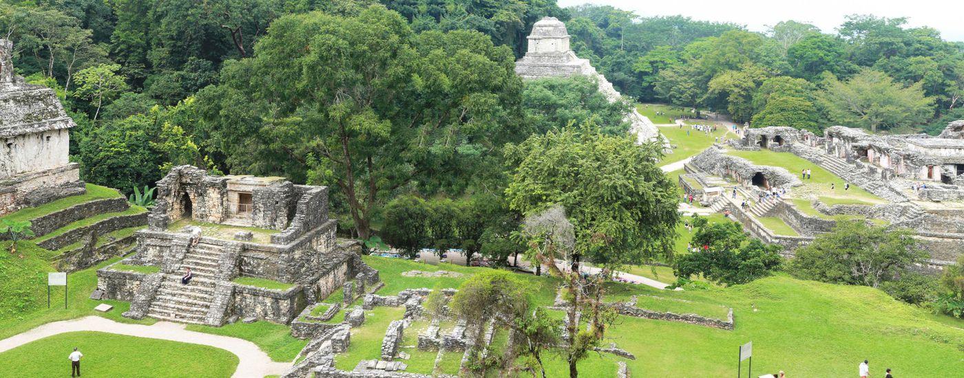 Ruinenstadt Palenque in Mexiko
