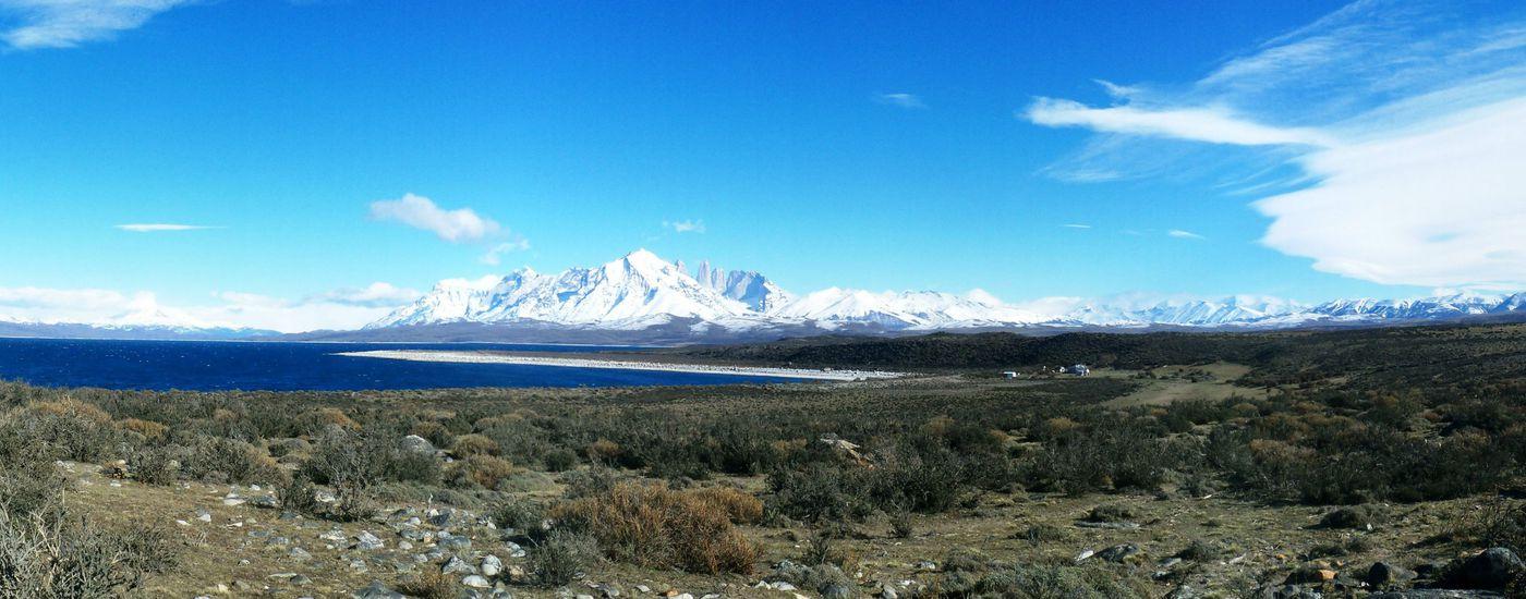 Chile Torres del Paine Panoramabild