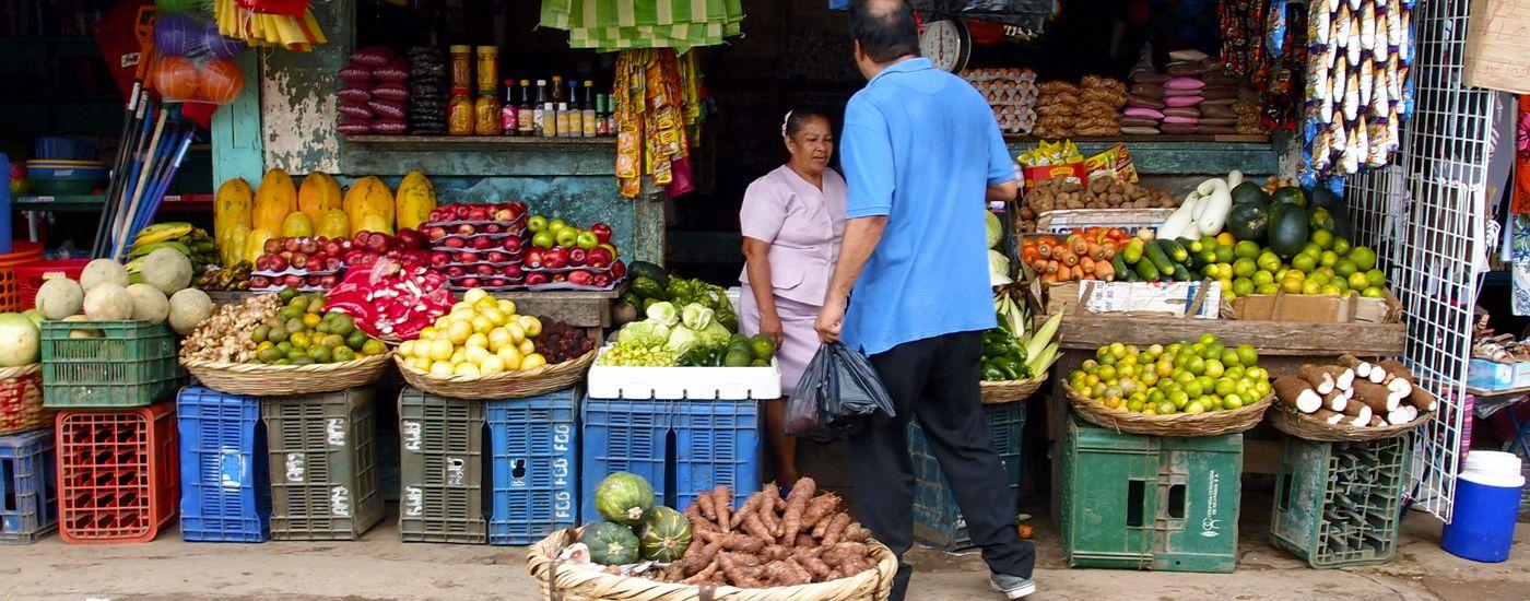 Nicaragua Markt Obst