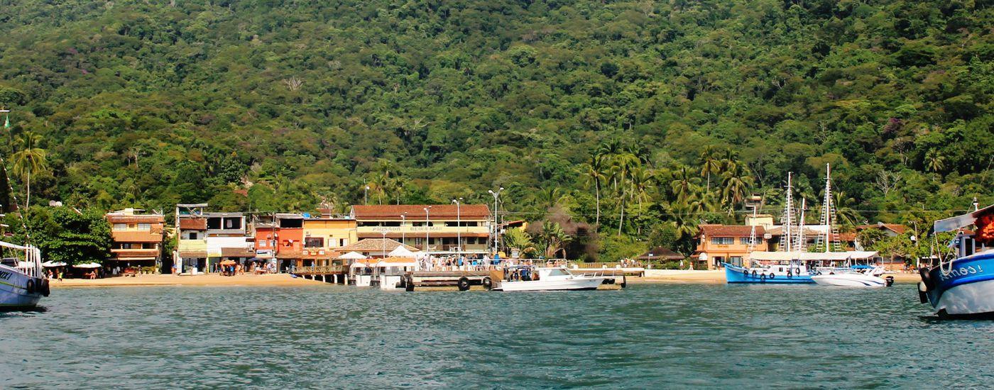 Brasilien Ilha Grande Hafen Aromabild Sandra