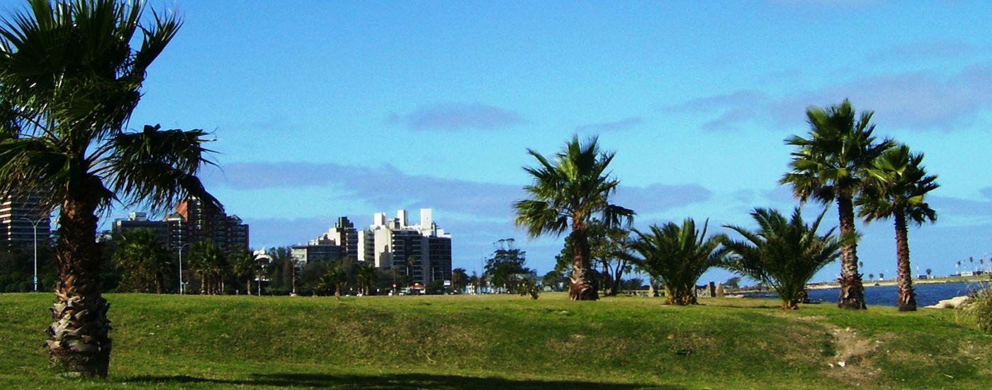 Uruguay Montevideo Panorama Aromabild