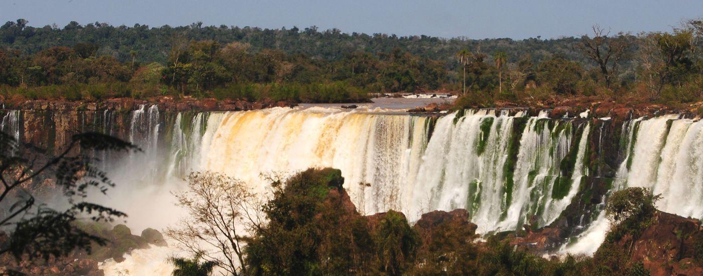 Argentinien Iguazu Aroma gespiegelt