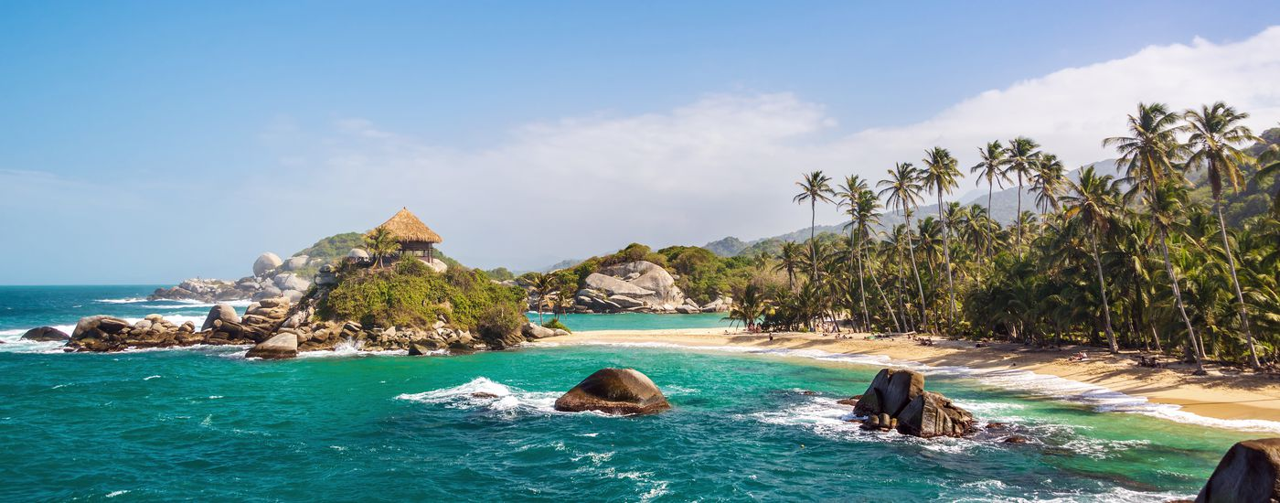 Kolumbien Tayrona Nationalpark Strand