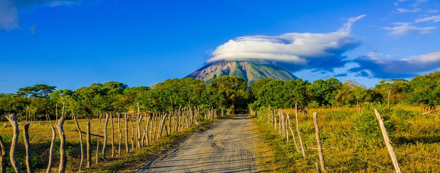 Nicaragua Insel Vulkan