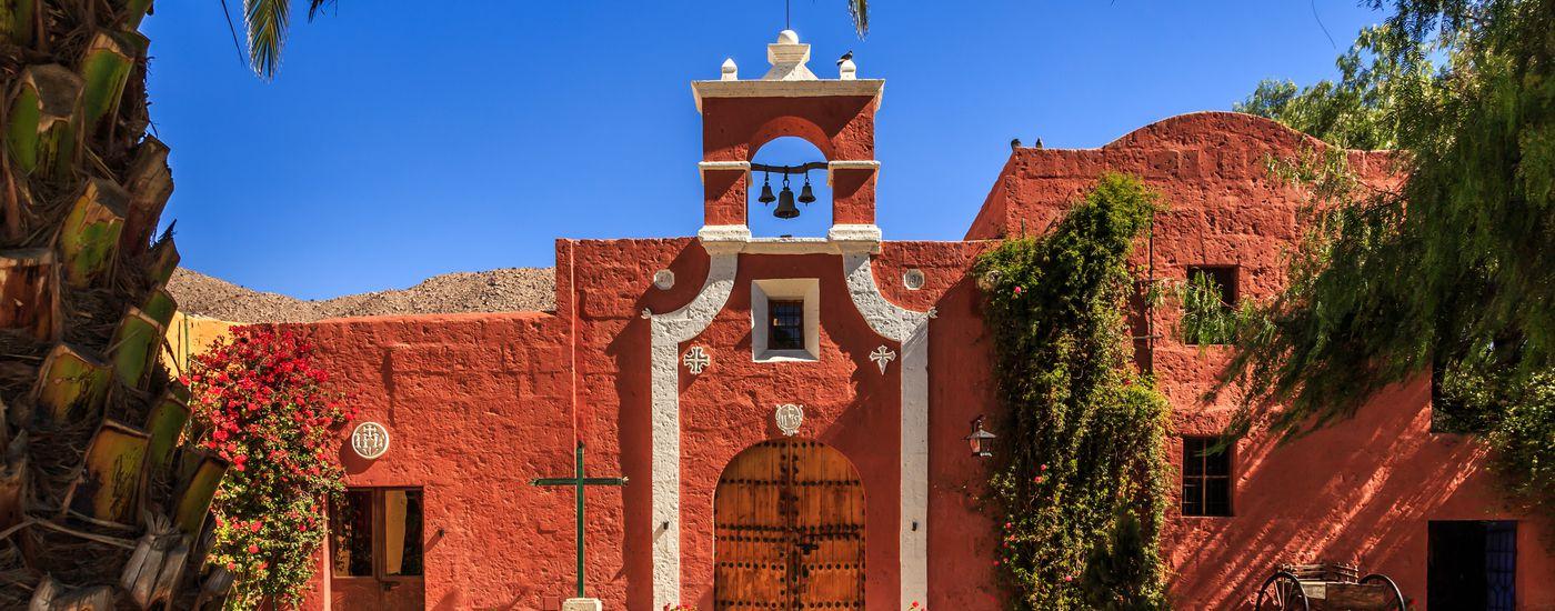 Peru Arequipa Kapelle