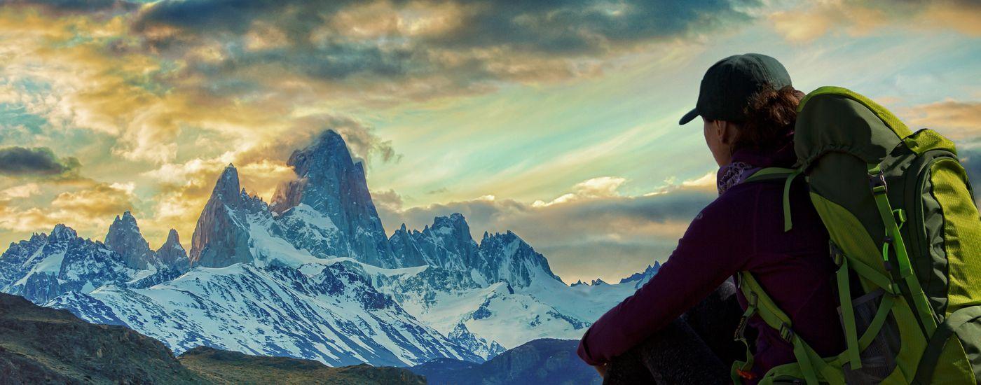 Argentinien Chile Patagonien Torres del Paine Fitz Roy iStock 543362382
