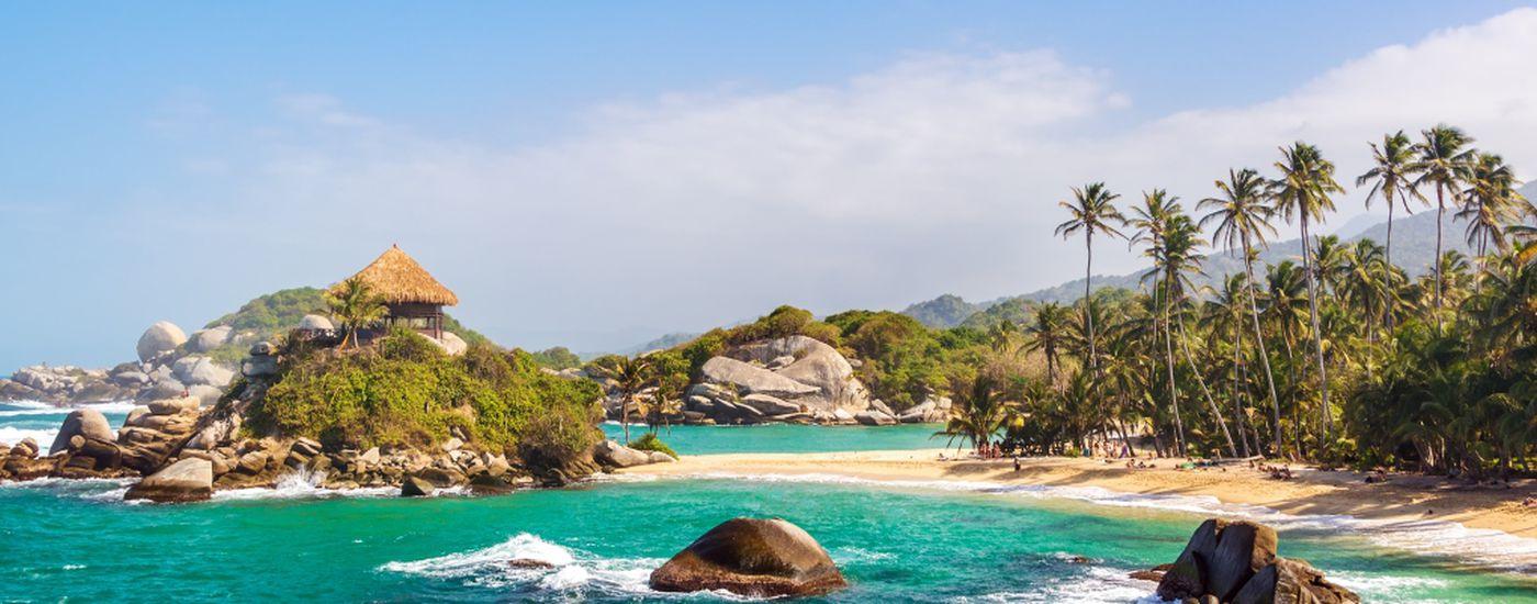 Kolumbien Tayrona Nationalpark Strand iStock 516633825