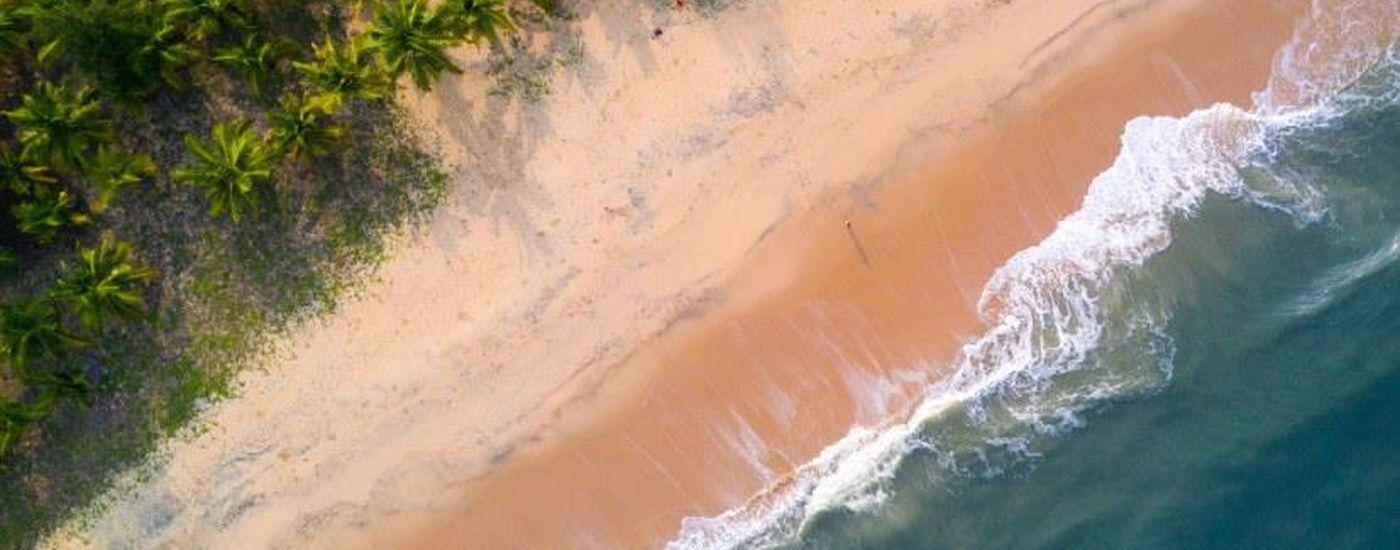 Indien Mararikulam Marari Beach Strand