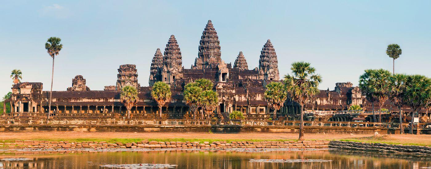Kambodscha Siem Reap Angkor Wat Reise
