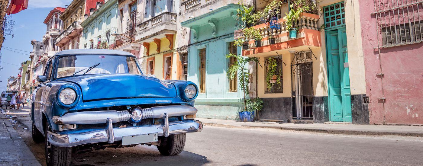Kuba klassisches Auto in Havanna