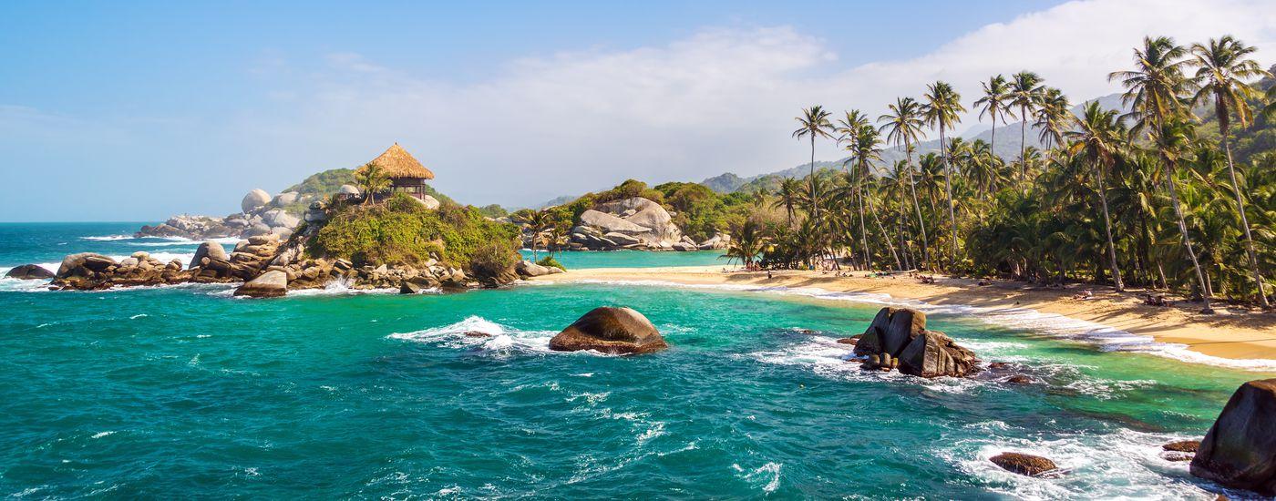 Kolumbien Tayrona Nationalpark Strand - Aromabild