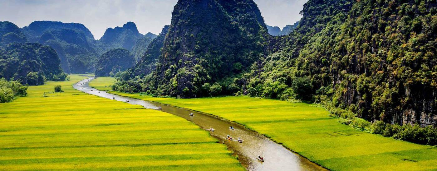 vietnam ninh binh reisfelder