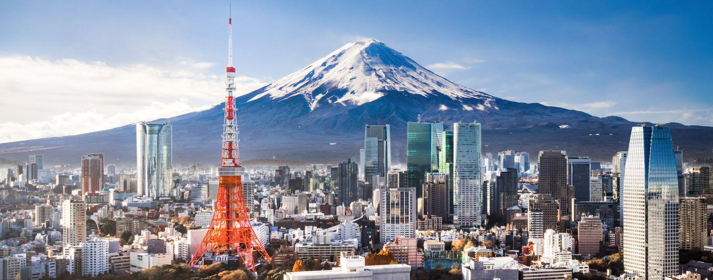 Japan Tokio und Fuji iStock 912274822 Panorama Bild GRP