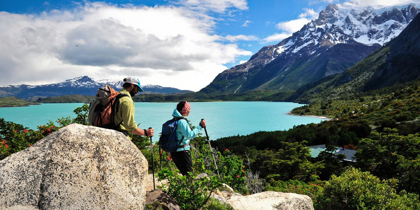 Wandern im Torres del Paine Nationalpark Chile