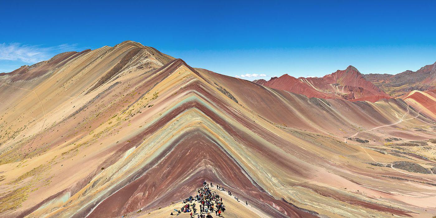 Regenbogenberg Vinicunca Peru