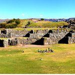 Inkaruinen Saqsaywaman, Cusco, Peru