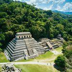Mexiko Palenque Chiapas Maja Tempel