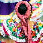Mexiko Oaxaca Taenzerin