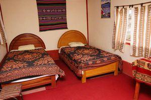 Peru Titicacasee Uros