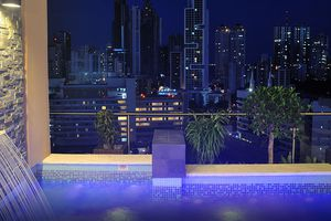 Panama Panama Stadt Nacht