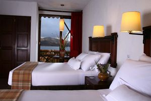 Peru Titicacasee Sonneninsel Stock 1128631508