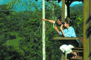Costa Rica Selva Bananito Lodge Aussicht2