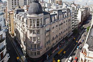 Argentinien-Buenos-Aires-Sonnenuntergang