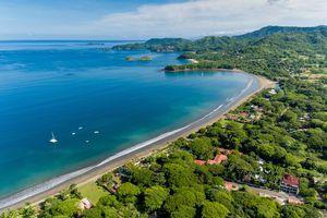 Costa Rica Strand Sonnenuntergang