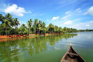Indien Alleppey Hausboot Reise