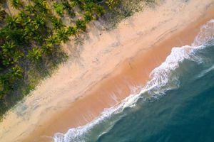 Indien Mararikulam Marari Strand Sand Urlaub