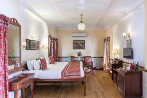 Indien Jodhpur blaue Stadt Haeusermeer City farbenfroh
