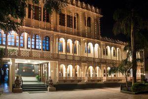 Indien Fatehpur Sikri Geisterstadt offene Tuere Reise