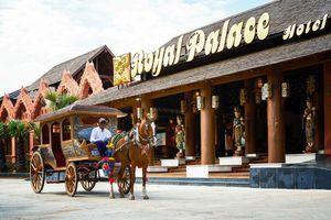 Myanmar Bagan Tempelfeld Erkundung
